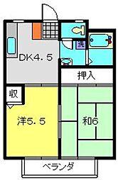 ドエル・アルス神大寺127−3[103号室]の間取り