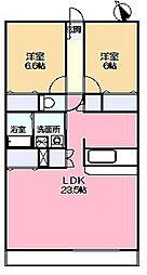 ライリッヒ・ストーレ[2階]の間取り