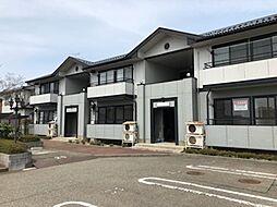 新潟県新潟市南区白根四ツ興野の賃貸アパートの外観