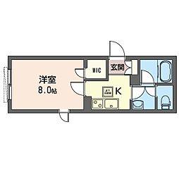 仮)豊島区南池袋4丁目シャーメゾン 1階1Kの間取り