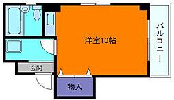 兵庫県神戸市東灘区本山南町5丁目の賃貸マンションの間取り