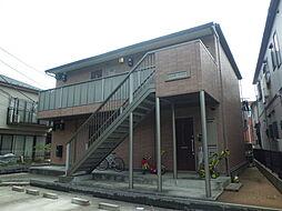 埼玉県川口市東領家1丁目の賃貸アパートの外観