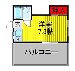 伊藤ビル[3階]の間取り