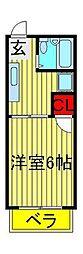 リーベンハウスパートII[2階]の間取り
