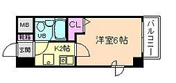 エスリード野田駅前[3階]の間取り