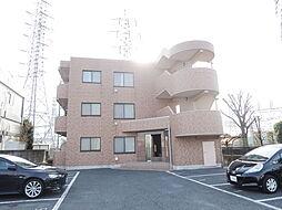 栃木県小山市城北2丁目の賃貸マンションの外観