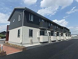 栃木県栃木市大平町西水代の賃貸アパートの外観