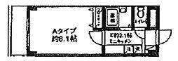 神奈川県川崎市高津区梶ケ谷1丁目の賃貸マンションの間取り