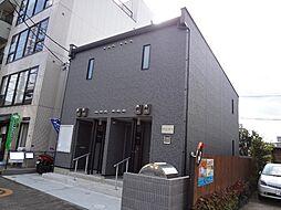 東京都八王子市八木町の賃貸アパートの外観
