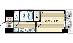 エステムコート新大阪VIIステーションプレミアム[5階]の間取り