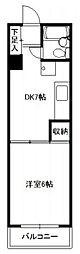 第7プリンスマンション[205号室]の間取り