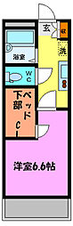 TAKA[2階]の間取り