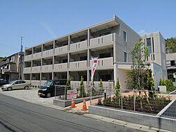神奈川県鎌倉市植木の賃貸マンションの外観