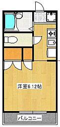 ハイツワイエム[2階]の間取り