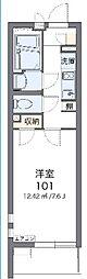 JR京浜東北・根岸線 与野駅 徒歩3分の賃貸アパート 4階1Kの間取り