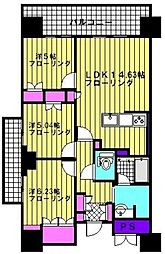 プライムメゾン照葉[606号室]の間取り