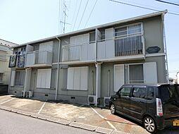 千葉県市原市西五所の賃貸アパートの外観