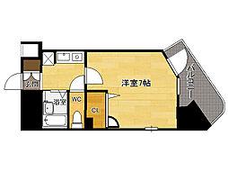 エンクレスト平尾[9階]の間取り