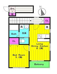 JR南武線 中野島駅 徒歩5分の賃貸アパート