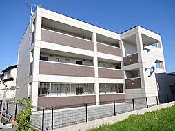 滋賀県長浜市平方町の賃貸マンションの外観