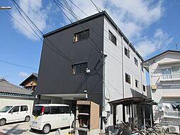滋賀県彦根市栄町2丁目の賃貸アパートの外観