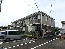 栃木県真岡市高勢町1丁目の賃貸アパートの外観