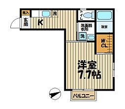 インプレス鎌倉III[210号室]の間取り