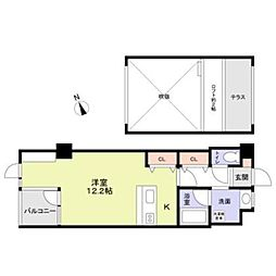HOTAKA5階Fの間取り画像