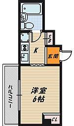 グレースハイツ野江[5階]の間取り