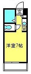 埼玉県さいたま市見沼区大字風渡野の賃貸アパートの間取り