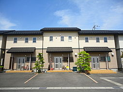 滋賀県長浜市湖北町速水の賃貸アパートの外観