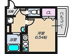 大阪府大阪市住吉区杉本2丁目の賃貸アパートの間取り
