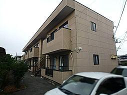 栃木県宇都宮市宮の内4丁目の賃貸アパートの外観