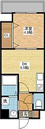 ステージ・F[3階]の間取り