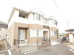 神奈川県伊勢原市池端の賃貸アパートの外観