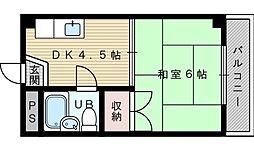ビスタ新庄ハイツ3[2階]の間取り