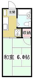 ファミーユ・サン[1階]の間取り