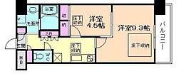 NORTH VILLAGE BIRTH PLACE[8階]の間取り