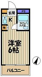 ウィン大船[303号室]の間取り