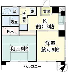立町ビル[3階]の間取り