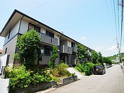 兵庫県神戸市垂水区桃山台6丁目の賃貸アパートの外観