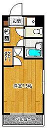 SAISON21[209号室]の間取り