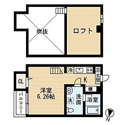 Lapis検見川(ラピスケミガワ)[1階]の間取り