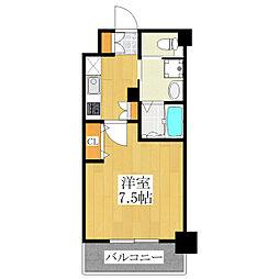 PARK SQUARE板橋[3階]の間取り