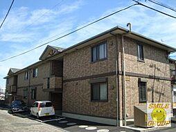 千葉県市川市曽谷4丁目の賃貸アパートの外観