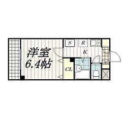 プリズム幕張本郷[9階]の間取り