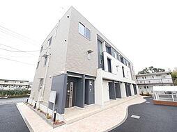 神奈川県海老名市上今泉2の賃貸アパートの外観