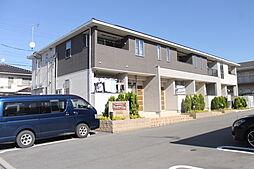 愛知県額田郡幸田町大字横落字北門の賃貸アパートの外観
