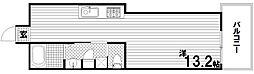 北野ビル2[4階]の間取り