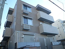 大阪府大阪市東住吉区東田辺2丁目の賃貸アパートの外観